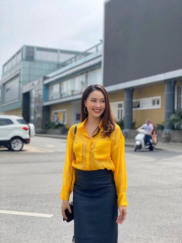 Hồng Diễm: Nguồn cảm hứng tuyệt vời cho những cô nàng công sở - Ảnh 11.