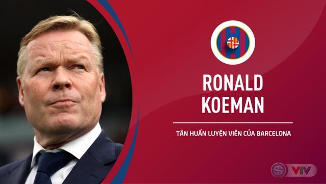 CHÍNH THỨC: FC Barcelona bổ nhiệm HLV Ronald Koeman với thời hạn 2 năm - Ảnh 1.