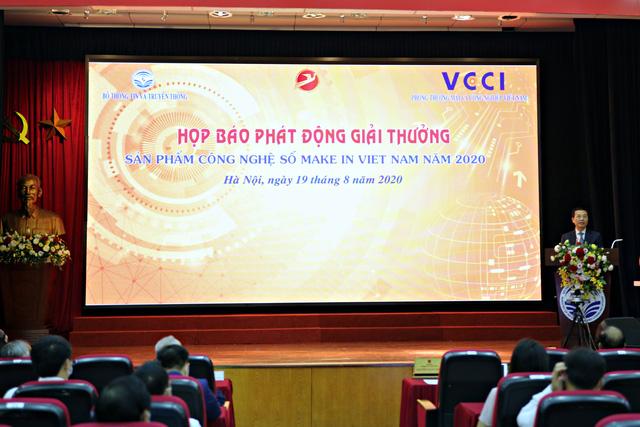 Phát động giải thưởng Sản phẩm công nghệ số Make in Vietnam năm 2020 - Ảnh 1.
