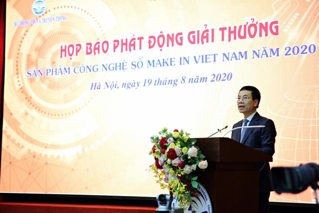 Phát động giải thưởng Sản phẩm công nghệ số Make in Vietnam năm 2020 - Ảnh 2.