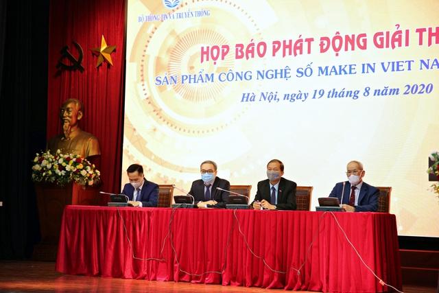 Phát động giải thưởng Sản phẩm công nghệ số Make in Vietnam năm 2020 - Ảnh 4.
