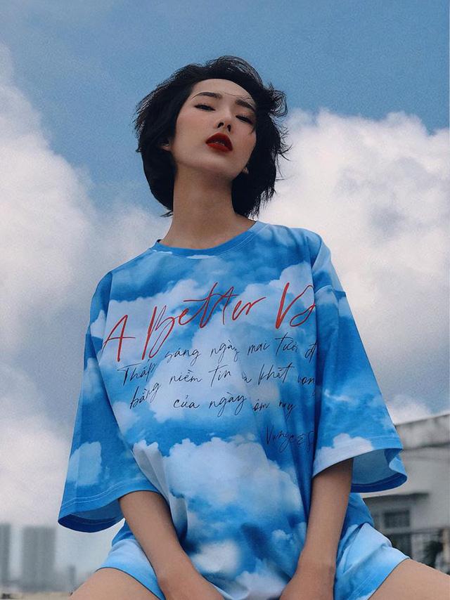 Bản sao Hoàng Thùy dự thi Hoa hậu Việt Nam 2020 - Ảnh 9.