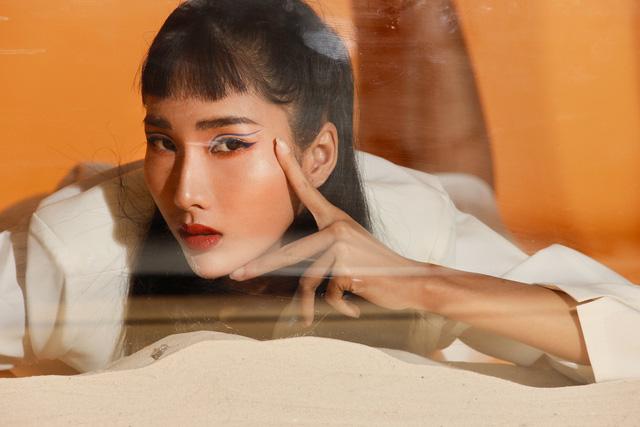 Bản sao Hoàng Thùy dự thi Hoa hậu Việt Nam 2020 - Ảnh 8.