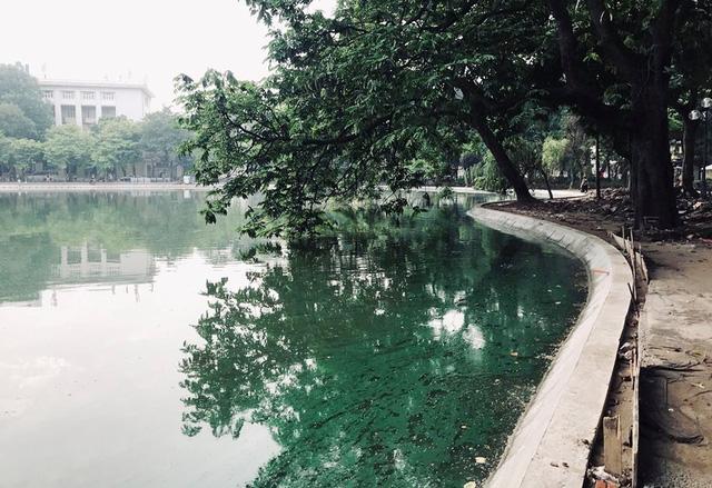 Hoàn thành công trình kè hồ Hoàn Kiếm sau 65 ngày thi công - Ảnh 10.