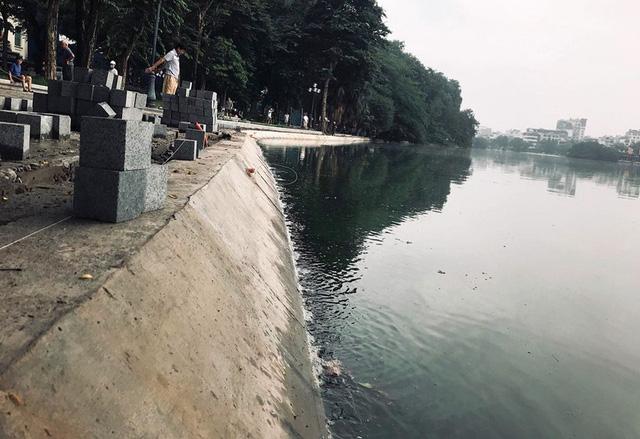 Hoàn thành công trình kè hồ Hoàn Kiếm sau 65 ngày thi công - Ảnh 9.