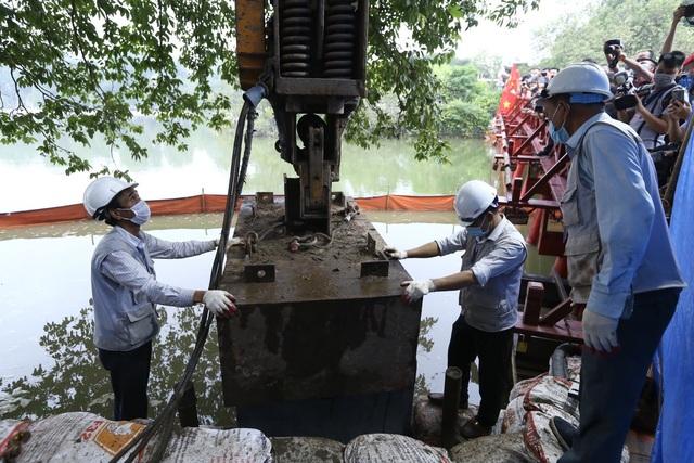 Hoàn thành công trình kè hồ Hoàn Kiếm sau 65 ngày thi công - Ảnh 5.