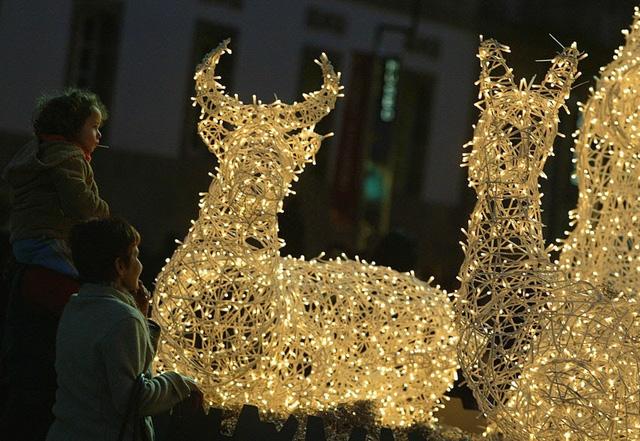 Đón Giáng sinh sớm với màn trình diễn ánh sáng lớn nhất thế giới - ảnh 2