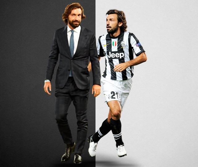 Pirlo và đội ngũ ban huấn luyện của Juventus có gì lạ? - Ảnh 1.