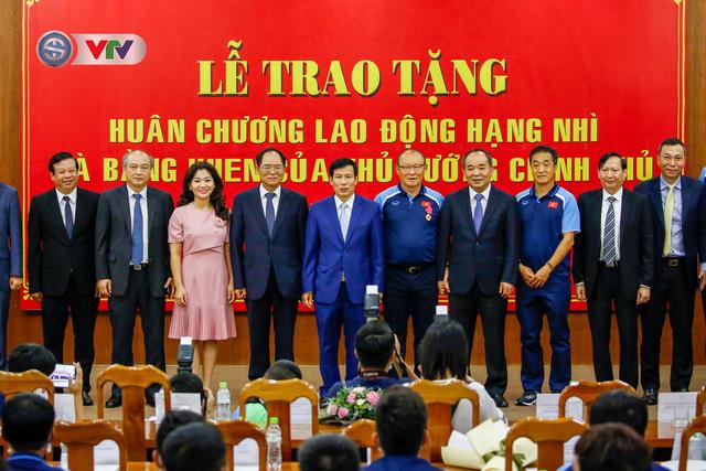 HLV Park Hang Seo nhận vinh dự chưa từng có trong lịch sử bóng đá Việt Nam - Ảnh 1.