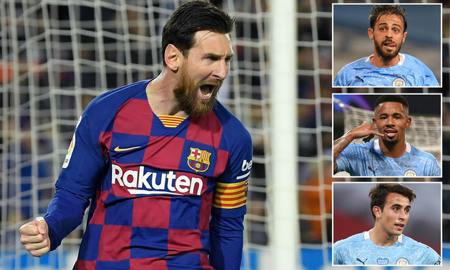 Quyết mua Messi, Man City đưa ra các giải pháp đàm phán với Barca - Ảnh 1.