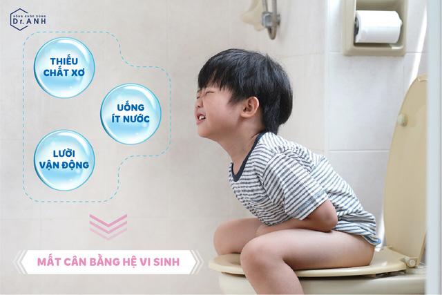 Giải pháp cho trẻ bị táo bón và biếng ăn từ bào tử lợi khuẩn - Ảnh 1.