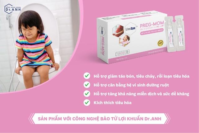 Giải pháp cho trẻ bị táo bón và biếng ăn từ bào tử lợi khuẩn - Ảnh 2.