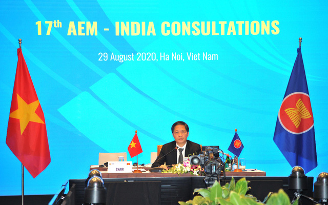 Hội nghị tham vấn về hợp tác kinh tế giữa ASEAN với Ấn Độ - Ảnh 1.