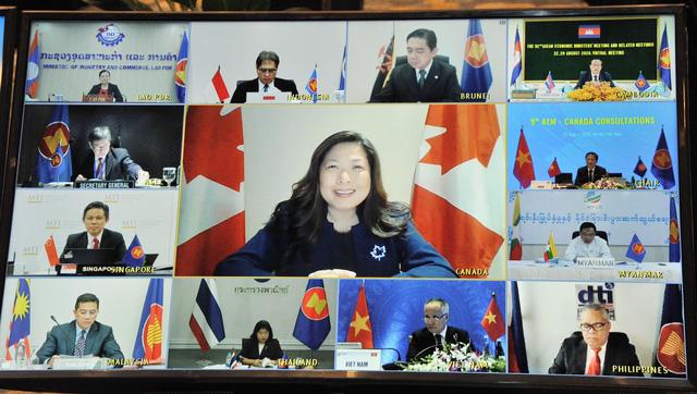 Hội nghị tham vấn về hợp tác kinh tế giữa ASEAN và Canada - Ảnh 1.