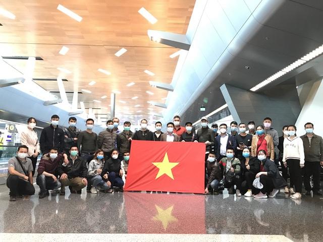 Đưa 140 công dân Việt Nam từ Trung Đông và châu Phi về nước - Ảnh 2.