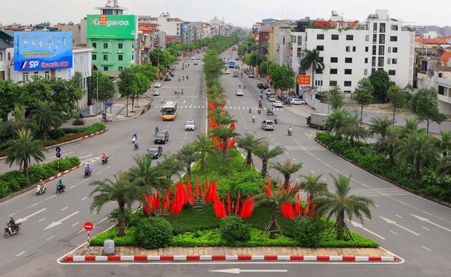 Hà Nội rực rỡ cờ hoa chào mừng Quốc khánh 2/9 - Ảnh 2.