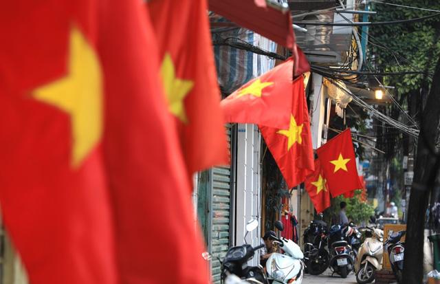 Hà Nội rực rỡ cờ hoa chào mừng Quốc khánh 2/9 - Ảnh 14.
