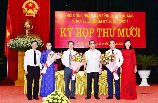 Bầu bổ sung 2 Phó Bí thư Tỉnh ủy giữ chức Chủ tịch UBND tỉnh - Ảnh 3.