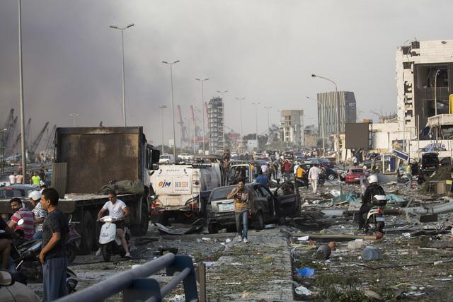 Nổ lớn làm rung chuyển thủ đô Lebanon, 73 người thiệt mạng, hàng nghìn người bị thương - ảnh 1