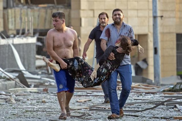 Nổ lớn làm rung chuyển thủ đô Lebanon, 73 người thiệt mạng, hàng nghìn người bị thương - ảnh 4