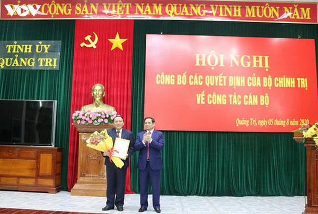 Bí thư Tỉnh ủy Quảng Bình giữ chức Phó Trưởng Ban Tổ chức Trung ương - Ảnh 2.