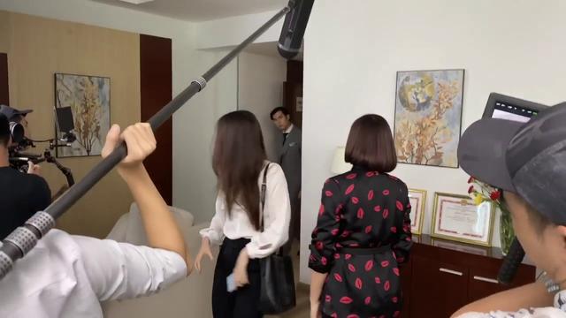 Hậu trường Tình yêu và tham vọng - Tập 42: Tuệ Lâm đánh Linh để xả hận? - Ảnh 3.