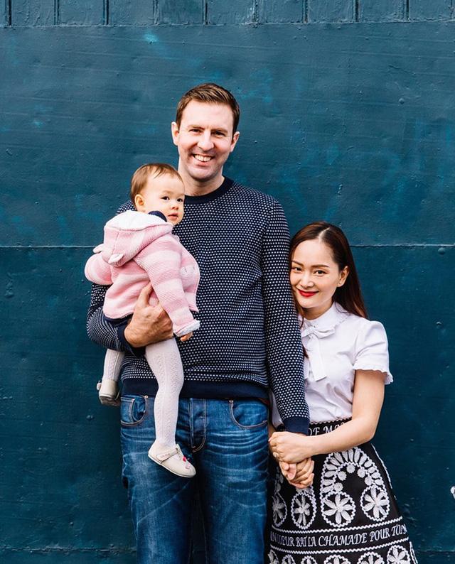 Lan Phương khoe ảnh gia đình hạnh phúc, cuộc sống hôn nhân viên mãn - Ảnh 3.