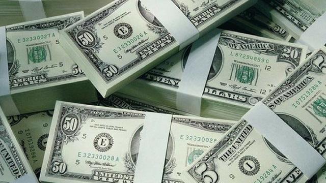 Giá USD tiếp tục giảm tại các ngân hàng thương mại - ảnh 1