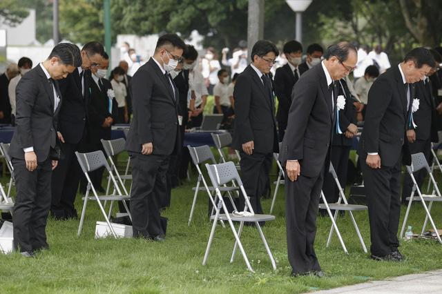 Nhật Bản tưởng niệm 75 năm vụ ném bom nguyên tử ở Hiroshima - ảnh 3