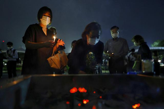 Nhật Bản tưởng niệm 75 năm vụ ném bom nguyên tử ở Hiroshima - ảnh 4