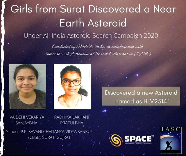 2 nữ sinh viên phát hiện tiểu hành tinh mới qua ảnh kính viễn vọng - ảnh 1