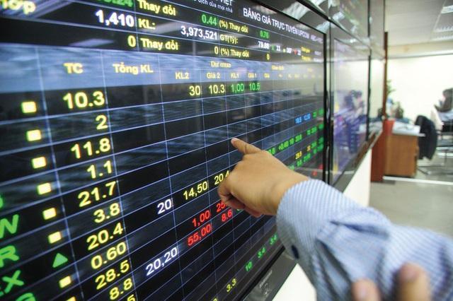 """Thị trường chứng khoán """"lình xình"""" trong khi giá vàng tăng liên tiếp - Ảnh 1."""