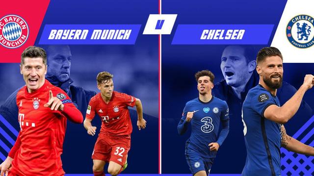 Lịch thi đấu lượt về vòng 1/8 Champions League rạng sáng 09/8: Barcelona - Napoli, Bayern Munich - Chelsea - Ảnh 3.