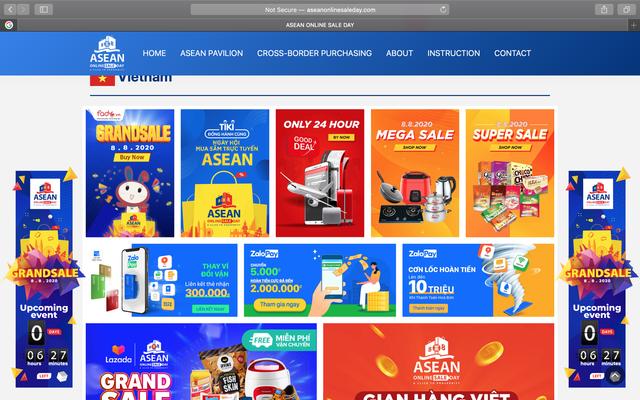 Khởi động ngày mua sắm trực tuyến lần đầu tiên trên khắp ASEAN - ảnh 1