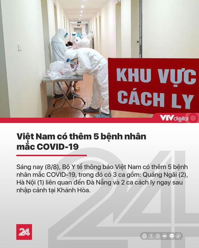 Tin nóng đầu ngày 8/8: Mẹ Việt Nam Anh hùng 94 tuổi 2 lần ủng hộ tiền chống COVID-19 - Ảnh 3.