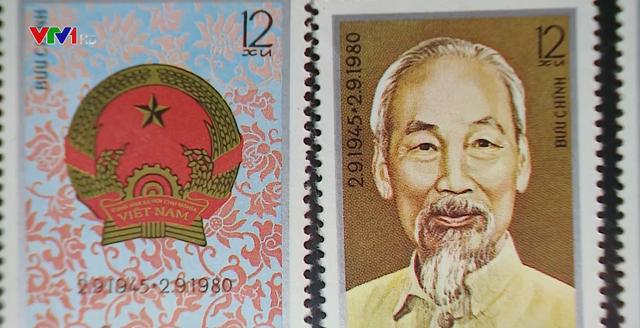 Những con tem lịch sử được phát hành vào ngày Quốc khánh đầu tiên - Ảnh 1.