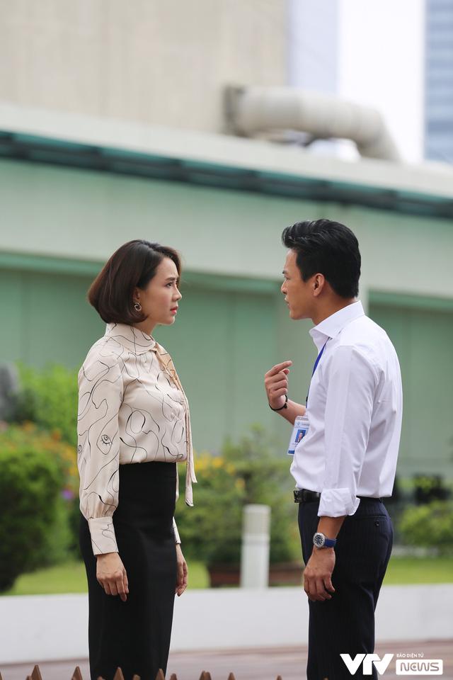 Hé lộ Hồng Đăng - Hồng Diễm cãi nhau trong phim mới - Ảnh 3.