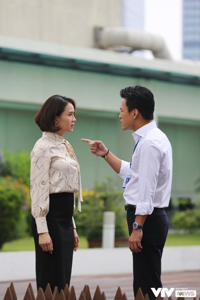 Hé lộ Hồng Đăng - Hồng Diễm cãi nhau trong phim mới - Ảnh 2.