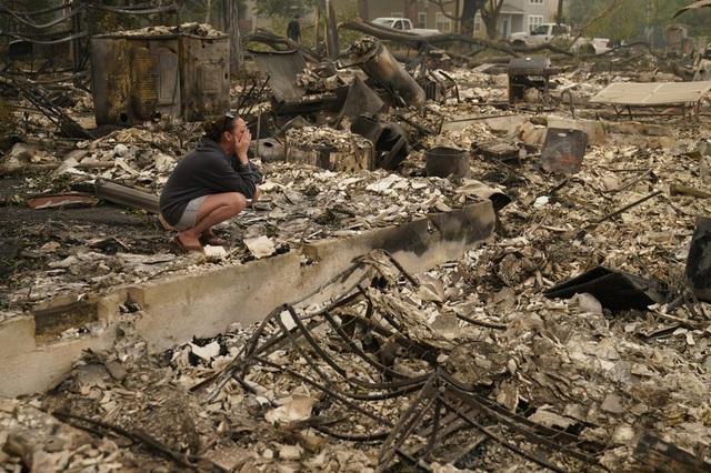 Người dân Oregon, Mỹ khốn đốn vì thảm họa cháy rừng chưa từng có - Ảnh 3.