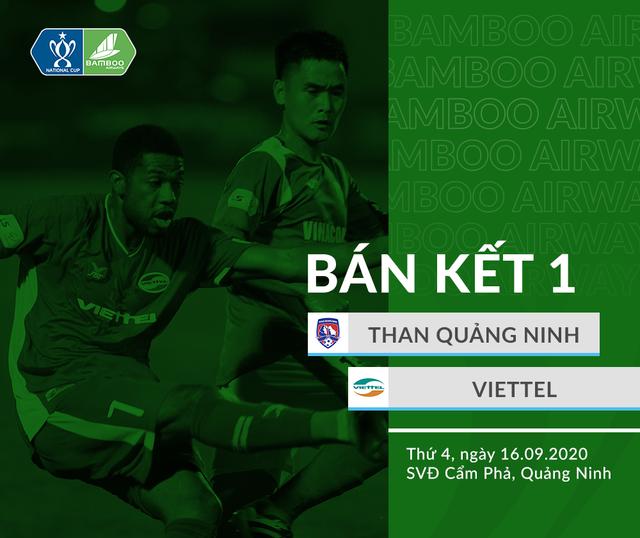 Than Quảng Ninh - CLB Viettel: Khó đoán (Bán kết Cúp Quốc gia, 18h ngày 16/9) - Ảnh 3.