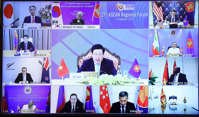 Các nước ASEAN lo ngại về gia tăng căng thẳng ở một số điểm nóng - Ảnh 1.