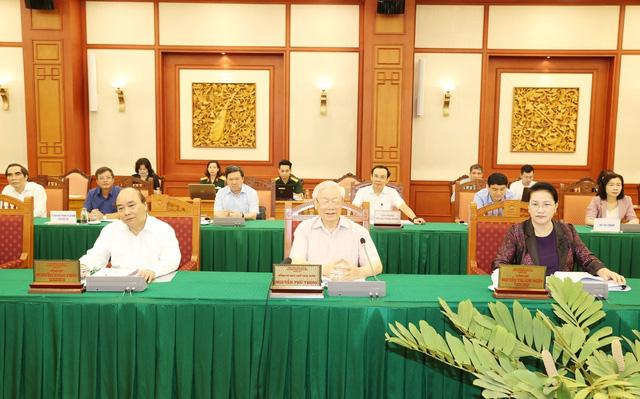 Bộ Chính trị cho ý kiến chuẩn bị Đại hội Đảng bộ Quân đội - Ảnh 2.