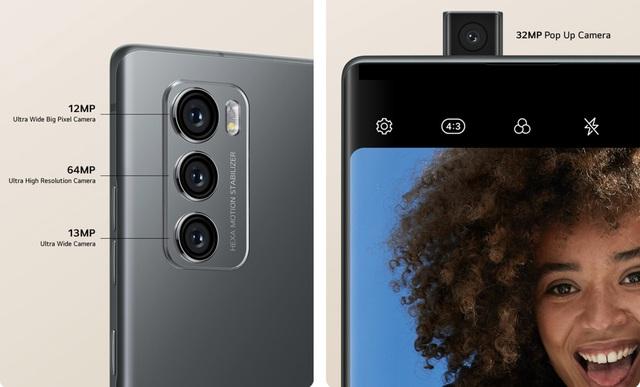 LG Wing chính thức trình làng với thiết kế 2 màn hình xoay độc đáo - Ảnh 3.