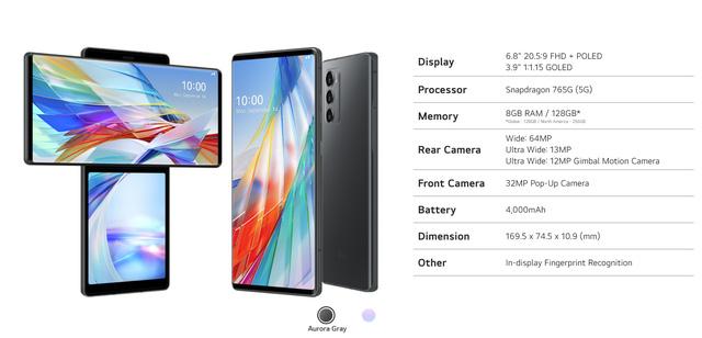 LG Wing chính thức trình làng với thiết kế 2 màn hình xoay độc đáo - Ảnh 5.