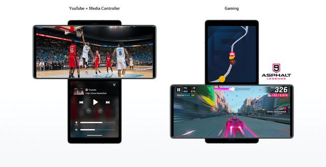 LG Wing chính thức trình làng với thiết kế 2 màn hình xoay độc đáo - Ảnh 2.