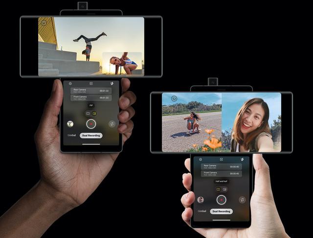 LG Wing chính thức trình làng với thiết kế 2 màn hình xoay độc đáo - Ảnh 4.