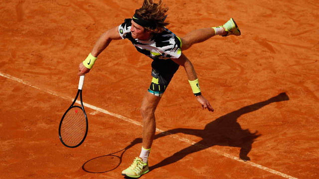 Italia mở rộng: Các tay vợt hạt giống đi tiếp, Wawrinka bất ngờ bị loại - Ảnh 1.