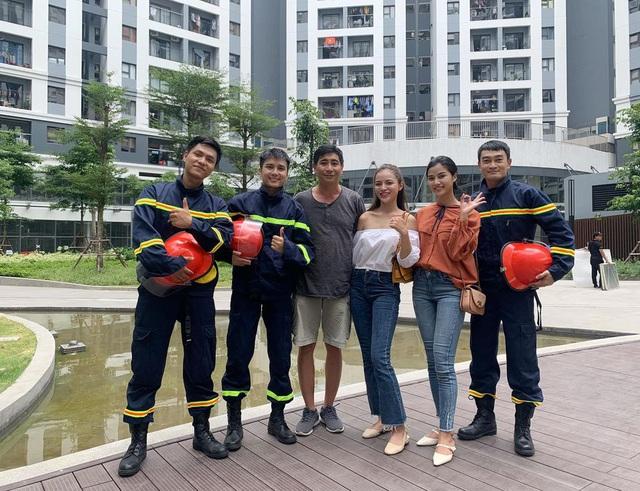 Lộ diện dàn lính cứu hỏa cực soái ca trong phim mới của VFC - ảnh 2
