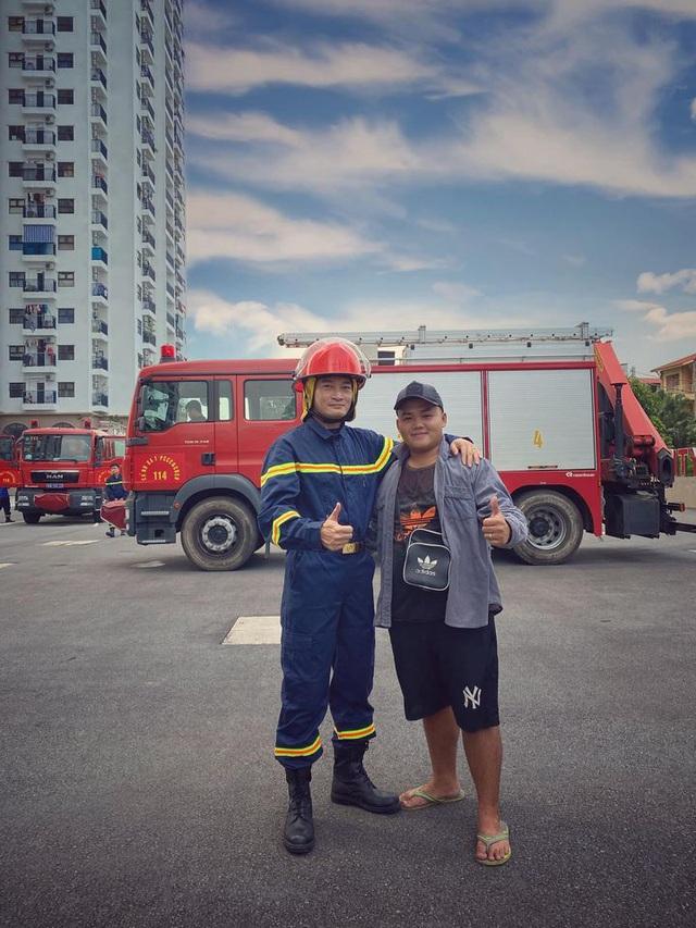 Lộ diện dàn lính cứu hỏa cực soái ca trong phim mới của VFC - ảnh 4