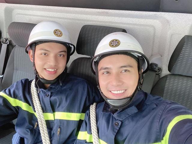 Lộ diện dàn lính cứu hỏa cực soái ca trong phim mới của VFC - ảnh 5